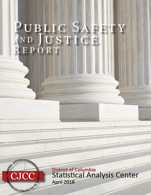 2016 Public Safety and Justice Report Cover photo