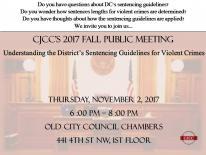 CJCC Fall 2017 Public Meeting