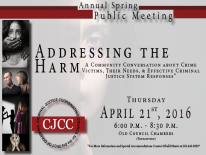 2016 Annual Spring Public Meeting